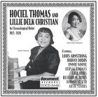 Hociel Thomas and Lillie Delk Christian (1925-1928)