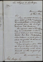 Copy of Letter from Sir F. Rogers to Mr. Hodge re: Immigration of Negroes from U.S. to British Honduras Through Ports of Boston, New York, Philadelphia, and New Orleans, November 29, 1862