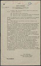 Cabinet Submission - Grant of Passports to Persons with Police Records, September 13, 1961