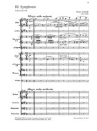 3. Symphonie, A Major