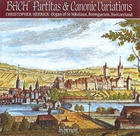 Bach: Partitas and Canonic Variations