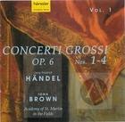 Handel: Concerti Grossi 1-4