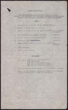 Clean Air Council: Agenda and Document List for Ninth Meeting, February 26, [1960]