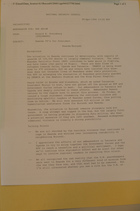 Memo from Donald K. Steinberg re: Rwanda TP's for President, Rwanda/Burundi, april 26, 1994