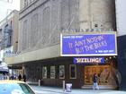 Photo of the exterior of the Ambassador Theatre, New York, NY