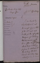 Draft of Letter from Edward Wingfield to Under Secretary of State, Foreign Office, re: Future Shipment of Vagrants to Jamaica, April 16-17, 1889
