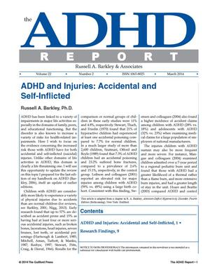 ADHD Report, Volume 22, Number 02, March 2014