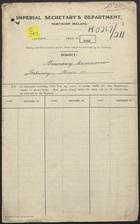 Boundary Commission Stationery