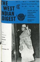 West Indian Digest, October 1972 Vol. 2, No. 5, The West Indian Digest, October 1972 Vol. 2, No. 5