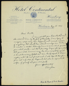 Letter from Franz Boas to Ruth Benedict, August 1, 1931