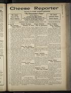 Cheese Reporter, Vol. 55, no. 38, Saturday, June 1, 1931