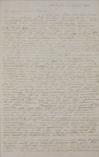Copy of Letter from William Leslie to George Leslie, September 14, 1838
