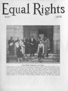 Equal Rights, Vol. 16, no. 12, April 26, 1930