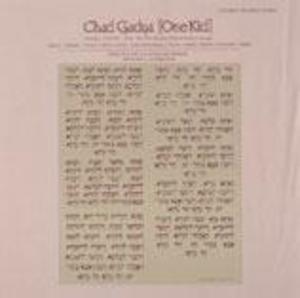 Chad Gadya: Passover Chant
