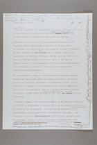 Letter from Mildred Persinger to Elinor Barber, October 22, 1978: Draft With Handwritten Notes