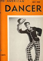 The American Dancer, Vol. 13, no. 9, July, 1940