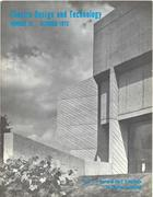 Theatre Design & Technology, no. 30, October, 1972