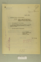 Mexico - Complaint Regarding Alleged Crossing of International Boundary by United States Soldiers, May 19, 1920