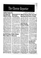 The Cheese Reporter, Vol. 86, No. 39, Friday, May 24, 1963