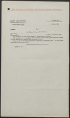 Letter from Sir Edward Grey to Sir F. Bertie, August 12, 1912