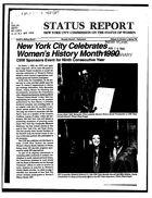 Status Report, vol. 13 no. 1, 1990