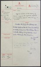 Correspondence re: US Blamed for Havana Gunboat Incident, August 1962