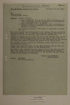 Translation (Extract) of Memo from Hans Rossmann to the State Attorney at Landgericht Coburg re: Charges, October 24, 1950