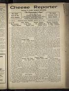 Cheese Reporter, Vol. 55, no. 35, Saturday, May 11, 1931