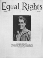 Equal Rights, Vol. 12, no. 14, May 16, 1925