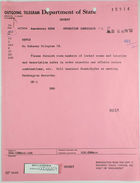 Telegram from Dept. of State to U.S. Embassy in Bern, July 26, 1963