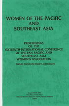 Proceedings of the Sixteenth International Conference of the Pan Pacific and Southeast Asia Women's Association