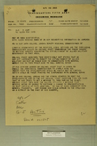 Memo from Fourth Corps to U.S. Fifth Army HQ on French Resistance to Allied Military Gov't in No. Italy, May 1945