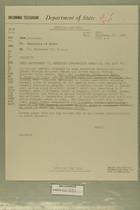 Telegram from John Sabini in Jerusalem to Secretary of State, September 18, 1956
