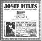 Josie Miles Vol. 1 (1922-1924)