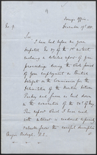 Letter from Lord Granville to Major Ardagh, Dec. 19, 1881