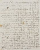Letters from George and Walter Leslie to Mary Anne and Patrick Davidson, October 27, 1838