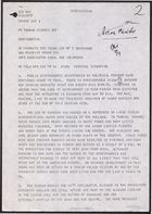 Letter from Chalmers to Priority FCO, September 7, 1978