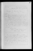 Letters from Hamilton Fish to Ebenezer Bassett, January - May, 1873
