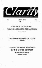 Clarity (periodical), Vol. 2 no 1, Spring Issue, 1941, Clarity, Vol. 2 no 1, Spring Issue, 1941