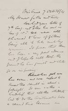Letter from Robert Logan Jack to Robert and Maggie Jack, October 7, 1894
