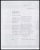 Copy of Letter from Ruth Benedict to Dr. Milo Helman [Hellman], October 21, 1936