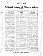 Bulletin, no. 6, April 1928