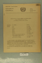 United Nations Security Council - Verbatim Record of the Six Hundred and Thirtieth Meeting, Oct. 27, 1953