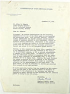 Letter from Charles O'Neill to Allen R. Edwards re: Magazine Subscriptions, November 16, 1942