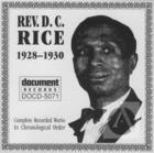 Rev. D.C. Rice (1928-1930)