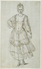 A Daughter of the Morn, c.1611 (pen & ink on paper)