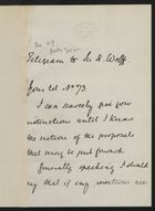Correspondence re: Relations between United States and Cuba, July 2, 1896