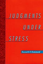 Judgements Under Stress