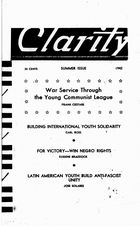 Clarity (periodical), Vol. 3 no. 3, Summer Issue, 1942, Clarity, Vol. 3 no. 3, Summer Issue, 1942