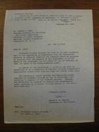 David B.H. Martin to Robert L. Hall, February 20, 1962
